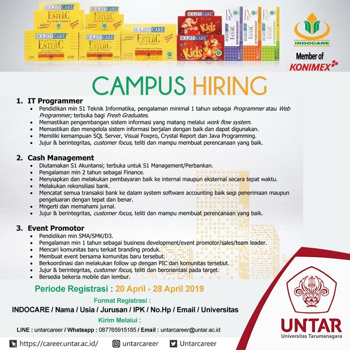 Untar Career